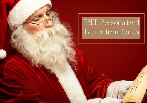 2020 Personalized Letter from Santa
