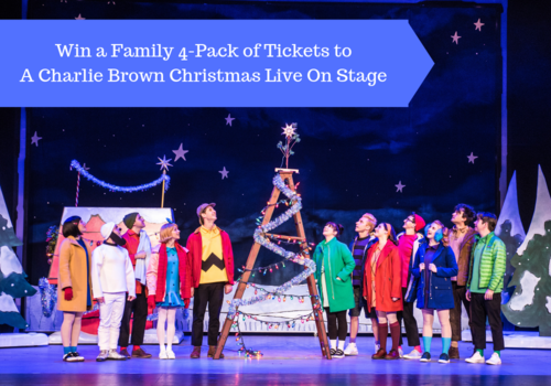 Enter to win 4 tickets to A Charlie Brown Christmas at the Wang Center Shubert Theater in Boston, Massachusetts