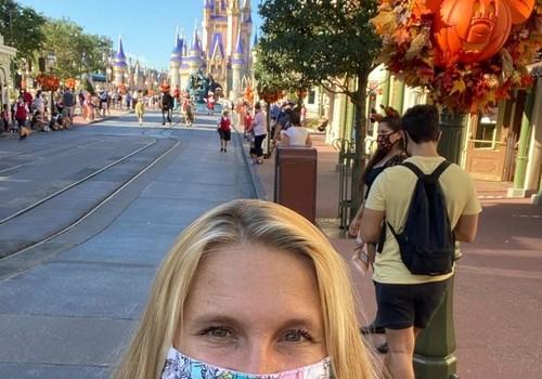 Masks at Disney World
