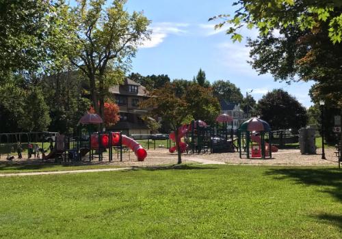 Whitman Park Playground Whitman MA