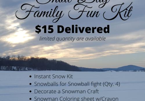 Snow Day Family Fun Kit