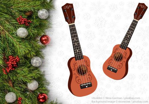 Holiday ukulele concert