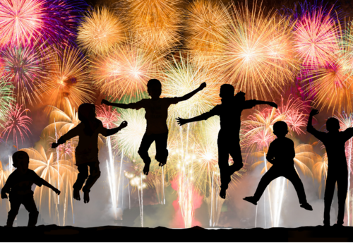 Family Fun, Fireworks, Forth of July, Library Programs, Events
