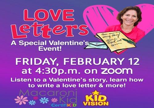 KidVisionPreK Valentine's Day Event