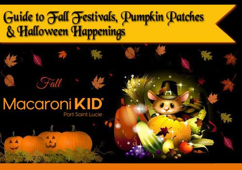 Macaroni KID Port St. Lucie Fall Festival & Halloween Happenings Guide
