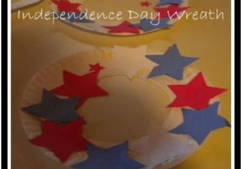 4th of July Independence Day Wreath