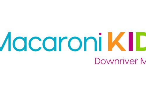 Logo for Macaroni Kid Downriver