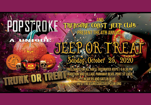 2020 Jeep or Treat at Pop Stroke