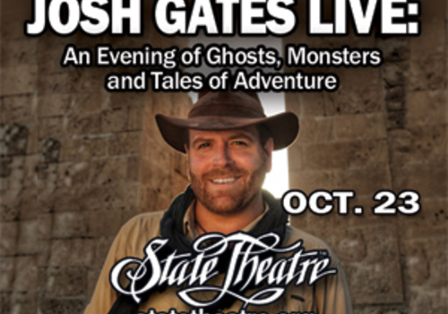 and evening of ghosts, monsters, and tales of adventure at the State Theatre Center for the Arts, Easton, PA October 23, 2019