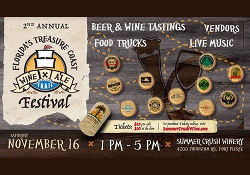2nd Annual Wine & Ale Trail Festival