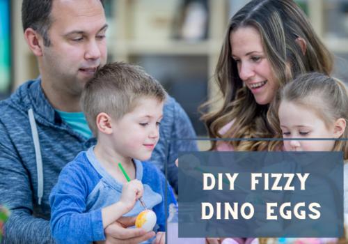 Fizzy dino egg
