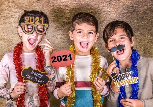New Year 2021 Kids