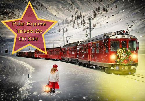 Polar Express tickets at The National Railroad Museum go on sale July 25 at 10am and usually sell out in 90 minutes