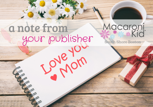 Mother's Day Desk and Note