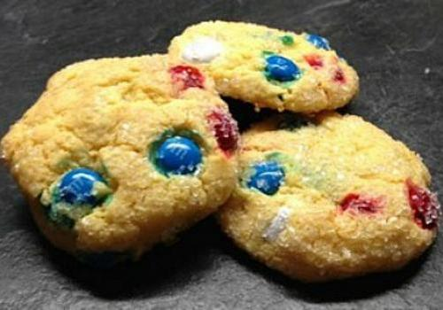Red, White & Blue Sparkle Cookies