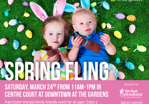 Spring Fling Downtown at the Gardens