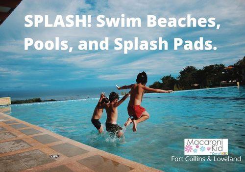 Splash! Swim Beaches, Pools and Splash Pads.
