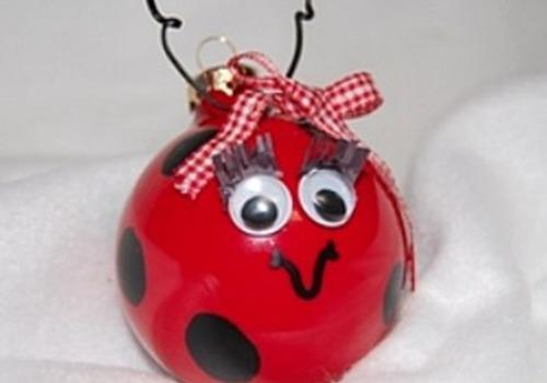 Valentine ladybug craft for kids