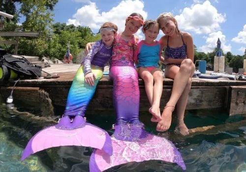 Family Dive Club summer camp for kids Magical Merfolk Adventure Camp located in Pelham, Alabama near Birmingham