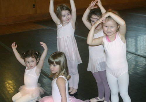 Ballet class at South Shore Conservatory in Hingham and Duxbury MA