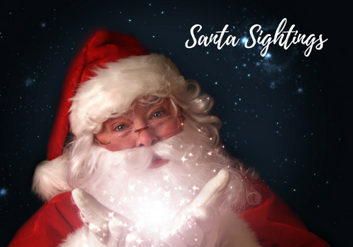 A picture of Santa