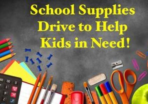 Paskack Juniors Woman's Club School Supplies Drive