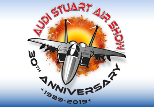 2019 Stuart Air Show 30th Anniversary Logo