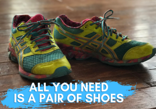 All you need is a pair of shoes