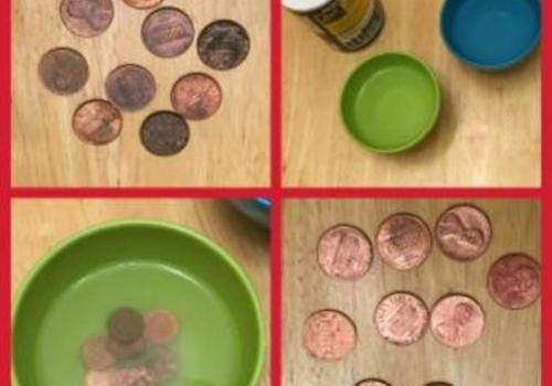Science Fun! Cleaning a Penny