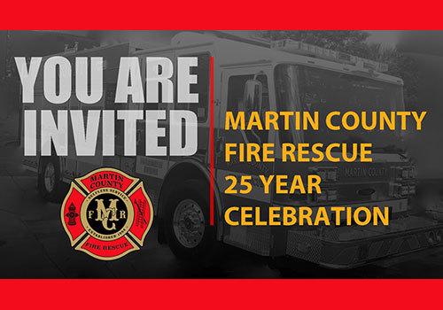 2019 Martin County Fire Rescue 25th Year Celebration