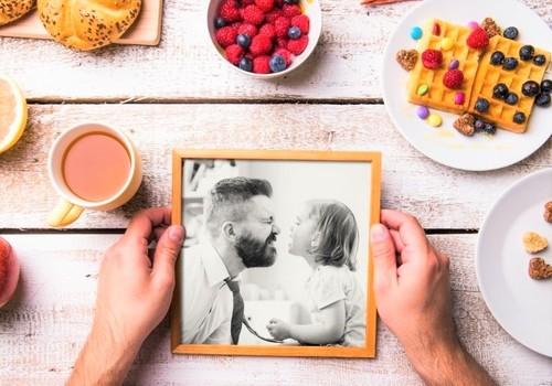 DIY Photo Coasters for Dad
