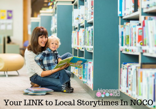 Your Link To Local Storytime In NoCo