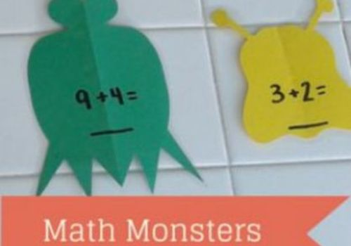 make your own math monsters