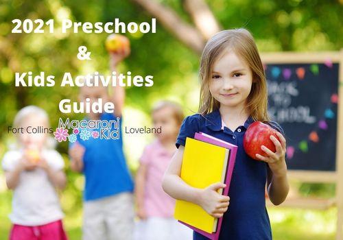 2021 Preschool & Kids Activities Guide
