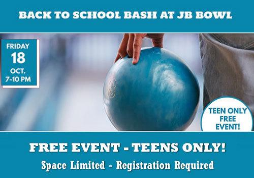 2019 Back to School Bash at JB Bowl
