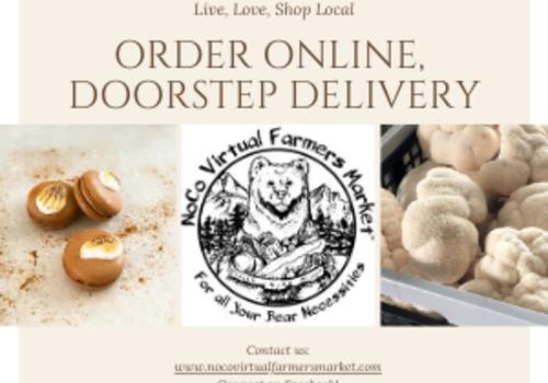 NOCO Virtual Farmers Market Brown Order Delivery