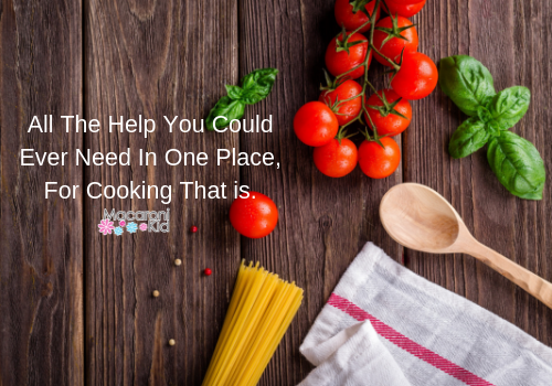 All The Help You Could Ever Need In One Place For Cooking That Is...