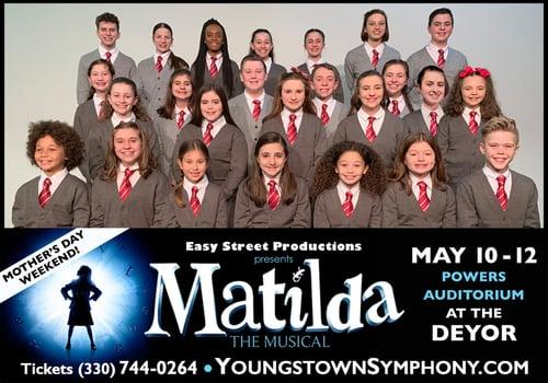 Matilda the Musical cast photo