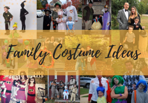 Family costume ideas for Halloween
