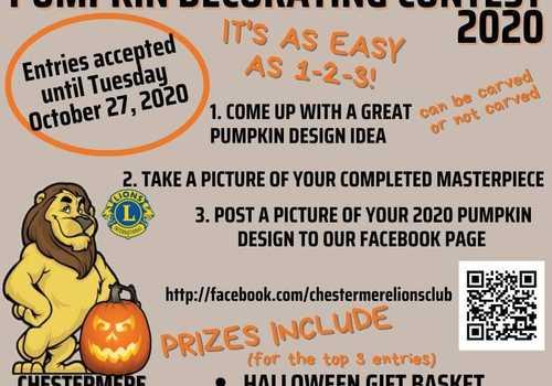 Chestermere Pumpkin Decorating Contest