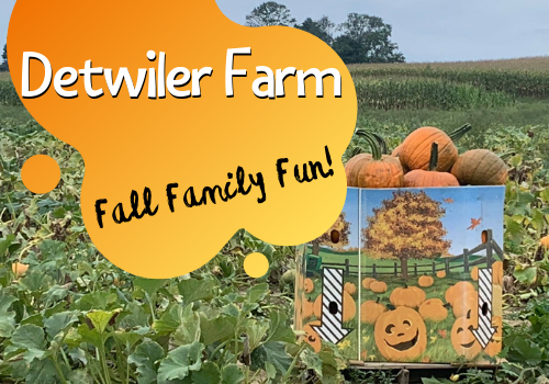 Fall Family Fun at Detwiler Farm