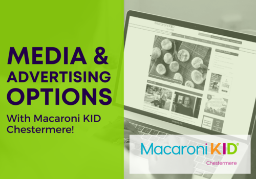Media & Advertising Options with Macaroni KID Chestermere