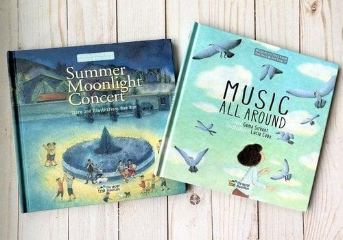 Music all Around & Summertime Moonlight Concert