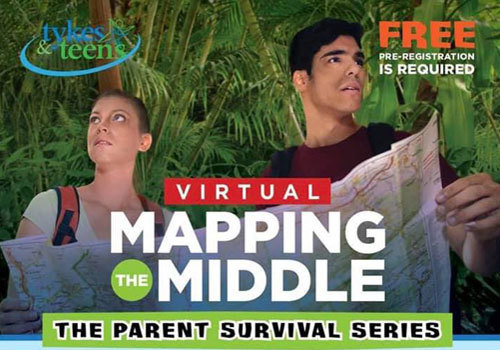 Tykes & Teens Virtual Mapping the Middle Series Fall 2020