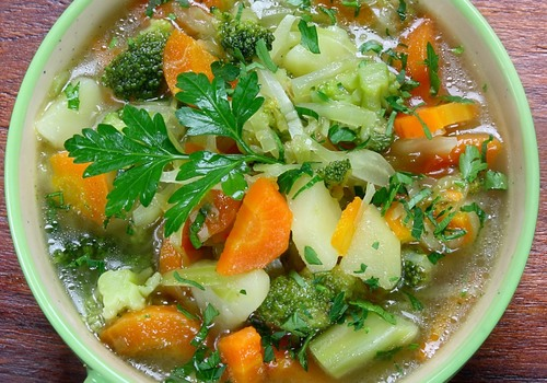 Soup with Hale Bone Broth