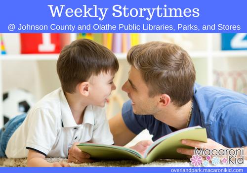 Storytime Overland Park Olathe Shawnee