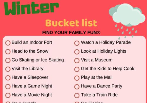 Winter Bucket List for Roseville Rocklin Lincoln CA