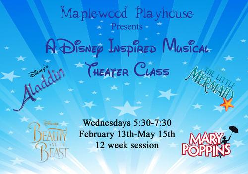A Disney inspired musical