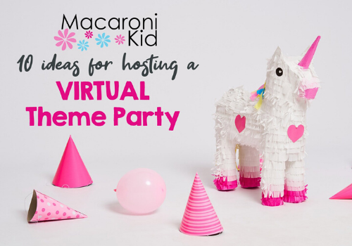themed virtual parties