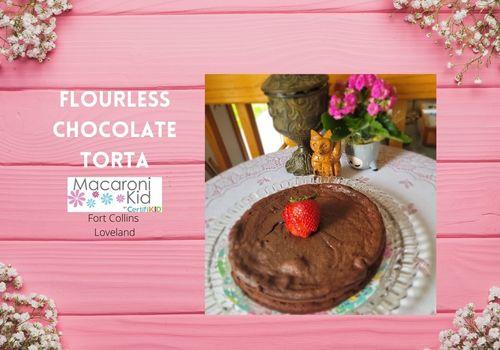Flowerless Chocolate Torta